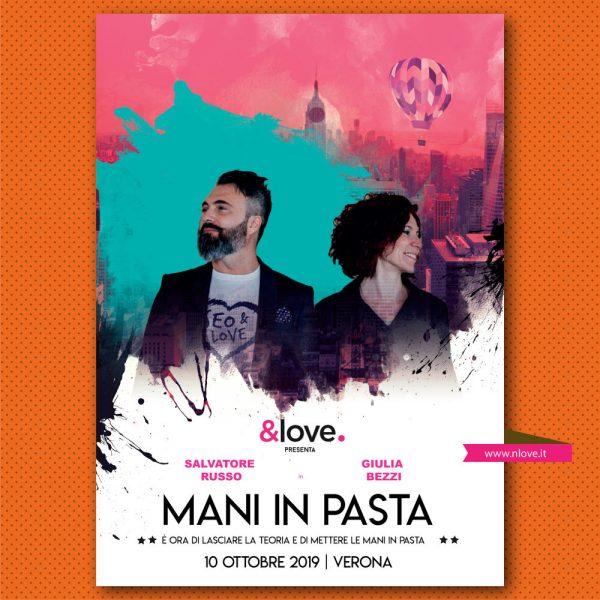 mani in pasta love