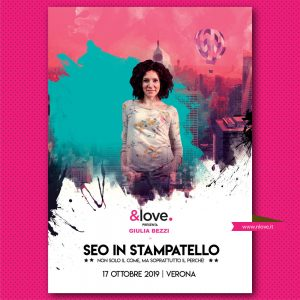 seo in stampatello &Love