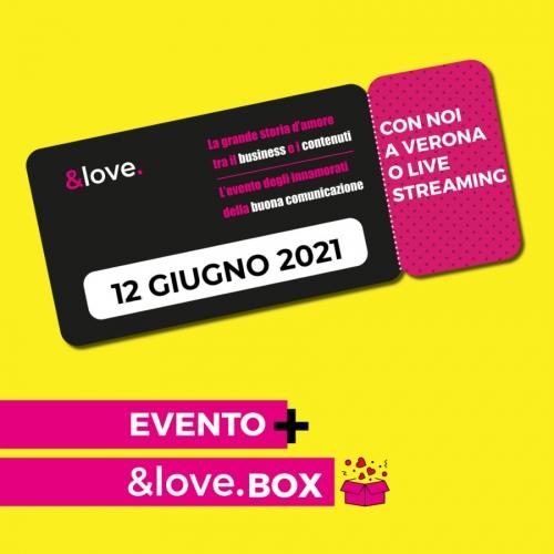 biglietto &love giugno 2021