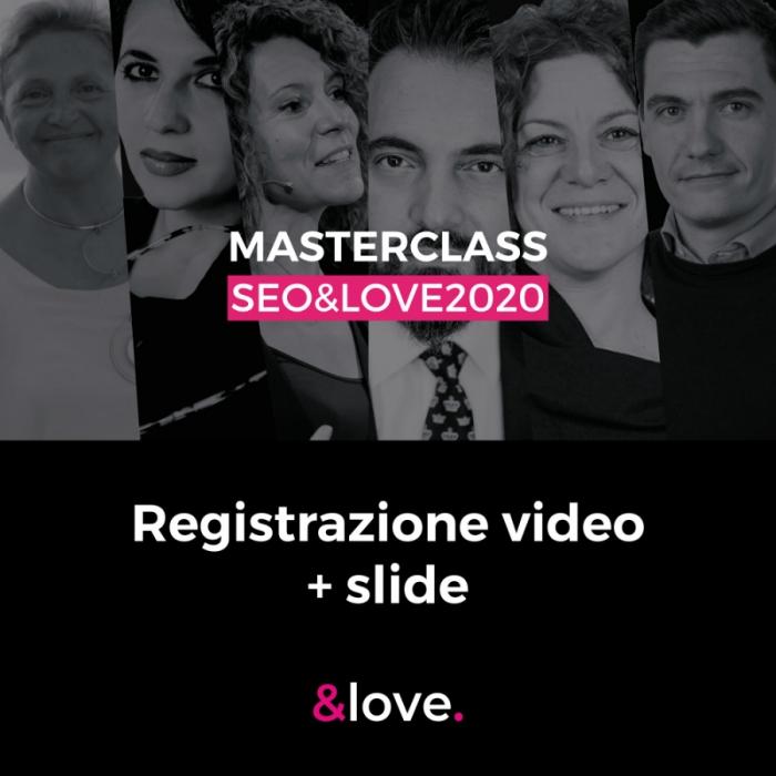 masterclass seo&love 2020