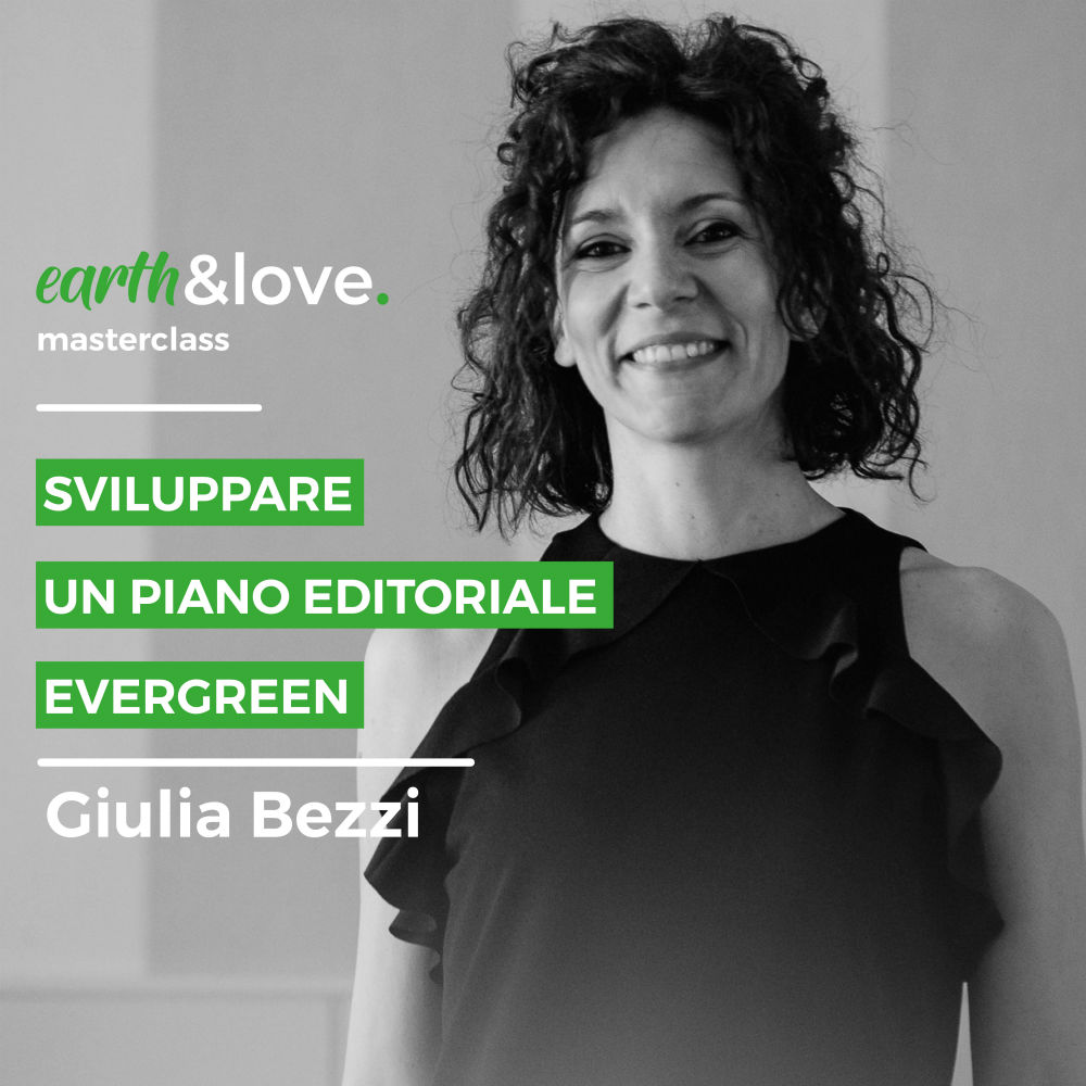 masterclass earth&love 2020 giulia bezzi