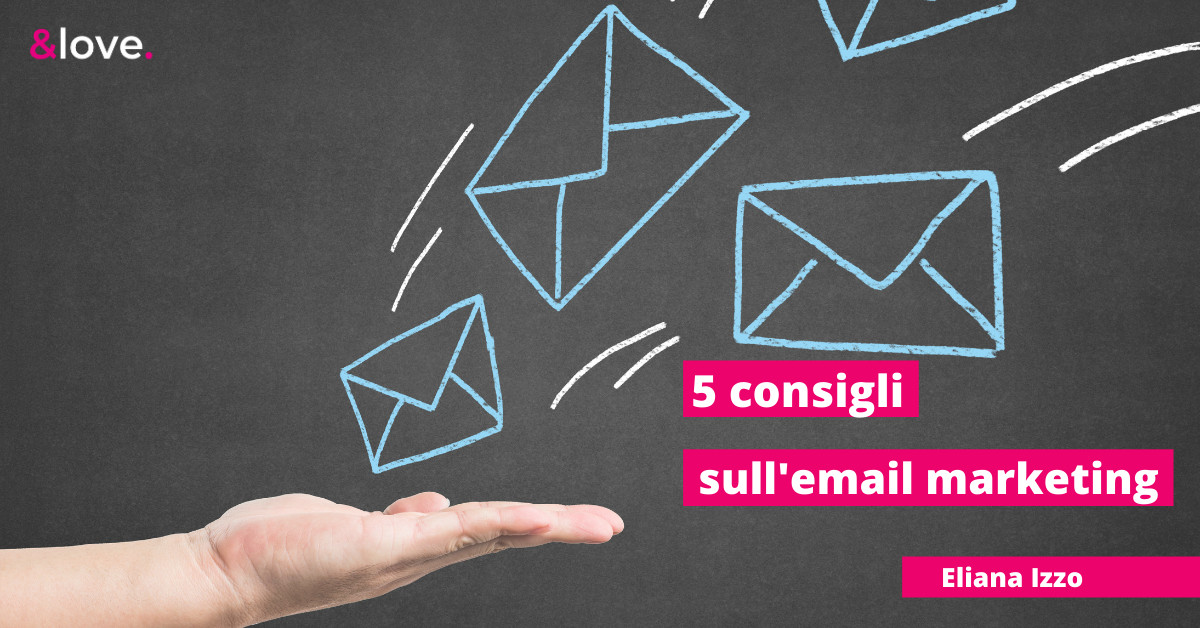 5 consigli email marketing cover