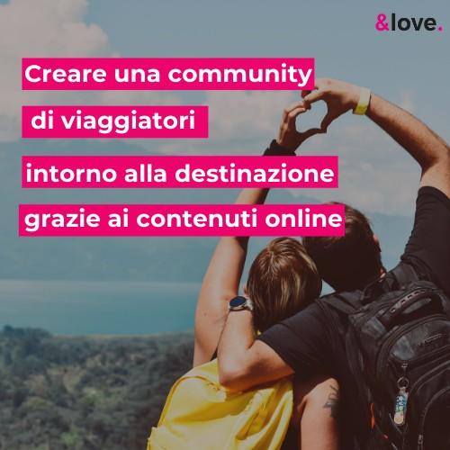 Creare una community di viaggiatori