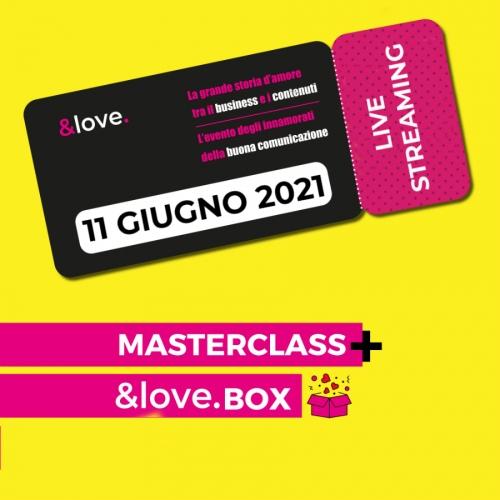 masterclass &love giugno 2021